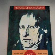Libros de segunda mano: HISTORIA DE LA FILOSOFIA. Lote 249256645