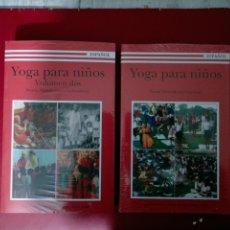 Libros de segunda mano: YOGA PARA NIÑOS SWAMI SATYANANDA SARASWATI YOGA PUBLATION OBRA COMPLETA SIN ABRIR DOS TOMOS. Lote 250243365