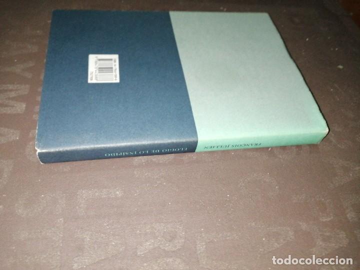 Libros de segunda mano: François Jullien , elogio de lo insípido - Foto 4 - 253196815