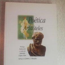 Libros de segunda mano: ARISTOTELES - POETICA - EDICION BILINGÜE - ÁGORA. Lote 253954325
