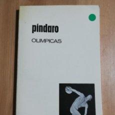 Libros de segunda mano: OLIMPICAS (PÍNDARO). Lote 254462425