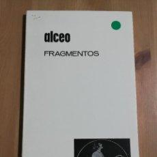 Libros de segunda mano: FRAGMENTOS (ALCEO). Lote 254463140