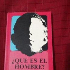 Libros de segunda mano: MARTÍN BUBER , ¿ QUE ES EL HOMBRE?. Lote 254642925