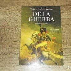 Libros de segunda mano: DE LA GUERRA. CARL VON CLAUSEWITZ. ESFERA DE LOS LIBROS. Lote 254985050