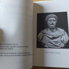 Libros de segunda mano: MARCO AURELIO, VIDA Y PENSAMIENTOS, FRAN DAUREL, ED. VIENA, 2000. Lote 257515255