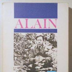 Libri di seconda mano: ALAIN - SOBRE LA FELICIDAD - MADRID 1966. Lote 257663765