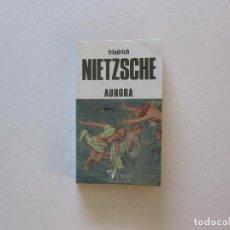 Libros de segunda mano: AURORA - FRIEDRICH NIETZSCHE. Lote 258094635