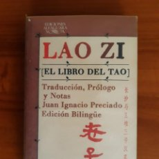 Libri di seconda mano: EL LIBRO DEL TAO. LAO ZI. Lote 260473040