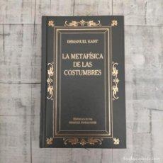 Libros de segunda mano: LA METAFÍSICA DE LAS COSTUMBRES KANT. Lote 261211720