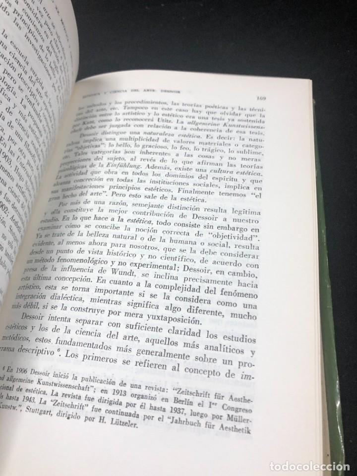 Libros de segunda mano: La Estética Contemporánea. Una investigación. Guido Morpurgo - Tagliabue. Losada Buenos Aires 1971 - Foto 9 - 261518235