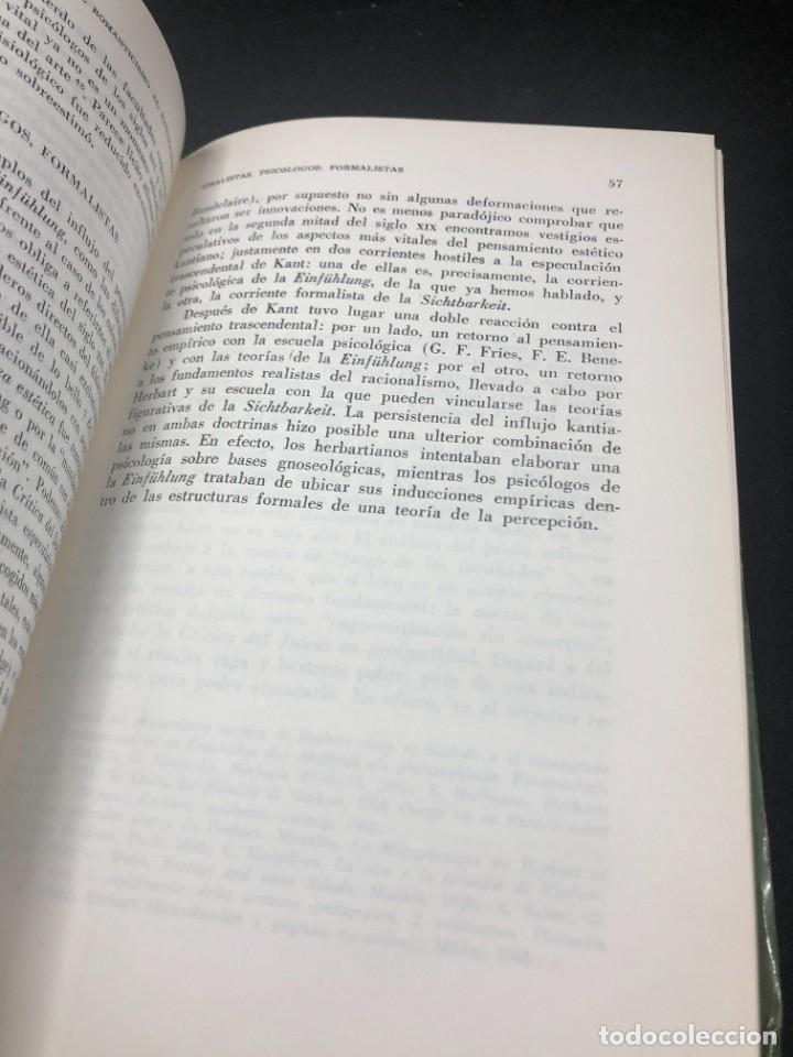 Libros de segunda mano: La Estética Contemporánea. Una investigación. Guido Morpurgo - Tagliabue. Losada Buenos Aires 1971 - Foto 13 - 261518235