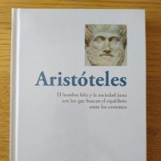 Libros de segunda mano: ARISTOTELES, EL HOMBRE FELIZ Y LA SOCIEDAD JUSTO Y OTRAS OBRAS, COL. APRENDE A PENSAR, RBA, 2015. Lote 261913835