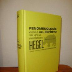 Libros de segunda mano: FENOMENOLOGÍA DEL ESPÍRITU - GEORG WILHELM FRIEDRICH HEGEL / ED. BILINGÜE DE A. GÓMEZ RAMOS - ABADA. Lote 261996305