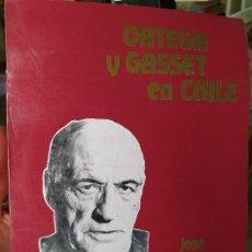 Libros de segunda mano: ORTEGA Y GASSET EN CHILE, JOSÉ MOURE, ED. LOGOS. 1988. Lote 262238030