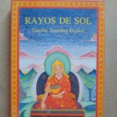Libros de segunda mano: RAYOS DE SOL. GUESHE TAMDING GYATSO. Lote 263597545
