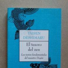 Libros de segunda mano: EL TESORO DEL ZEN , TAISEN DESHIMARU. Lote 263598735