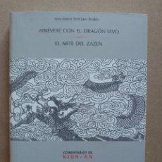 Livres d'occasion: ATREVETE CON EL DRAGÓN VIVO - ANA MARIA SCHLÜTER RODÉS. Lote 263598970