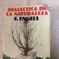 Livros em segunda mão: DIALÉCTICA DE LA NATURALEZA, F. ENGELS. Lote 263649840