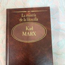 Livres d'occasion: KARL MARX ,LA MISERIA DE LA FILOSOFÍA. Lote 263666635