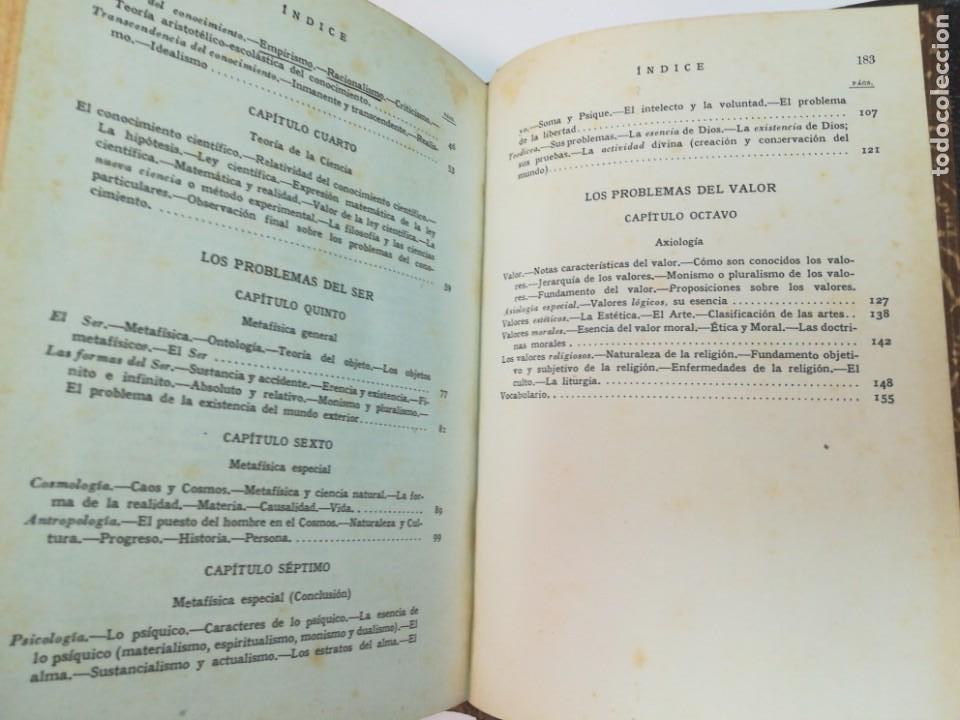 Libros de segunda mano: DR. ALEJANDRO DIEZ BLANCO Introducción a la Filosofia SA4371 - Foto 3 - 265712674