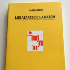 Libros de segunda mano: LOS AZARES DE LA RAZÓN . LASZLO MERO. PAIDÓS CONTEXTOS. PSICOLOGÍA. LÓGICA. Lote 265851614