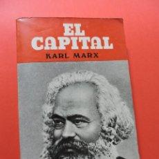 Libros de segunda mano: EL CAPITAL. MARX, KARL. PRODUCCIONES EDITORIALES 1980. Lote 265909208