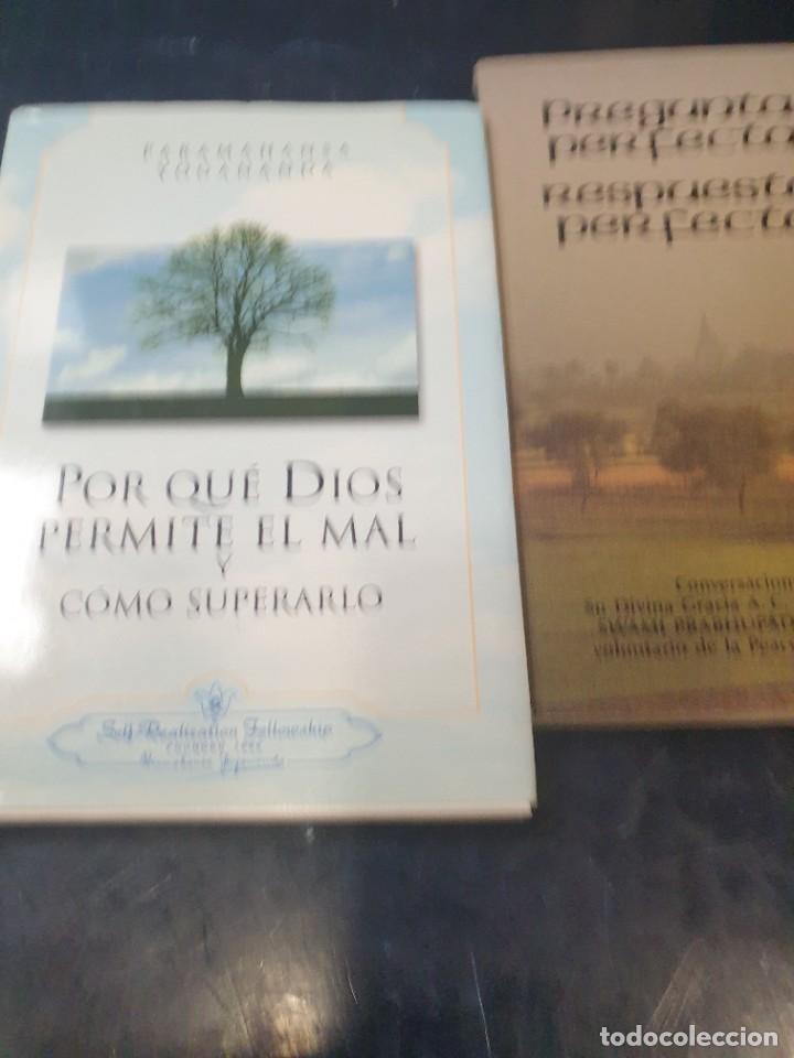 POR QUE DIOS PERMITE EL MAL Y COMO SUPERARLO, PARAMAHANSA YOGANANDA ( Y REGALO PREGUNTAS PERFECTA (Libros de Segunda Mano - Pensamiento - Filosofía)