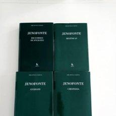 Libros de segunda mano: JENOFONTE. ANABASIS. CIROPEDIA. HELENICAS. RECUERDOS DE SÓCRATES. BIBLIOTECA CLÁSICA GREDOS.. Lote 267076224