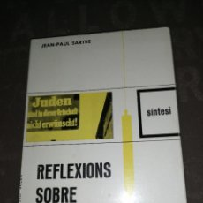 Libros de segunda mano: REFLEXIONS SOBRE LA QÜESTIÓ JUEVA , JEAN-PAUL SARTRE. Lote 267133219