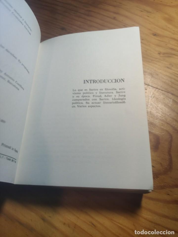 Libros de segunda mano: ANTONIO CUNILLERA: SARTRE Y EL EXISTENCIALISMO - COLECCIÒN ;HOMBRES,IDEAS,PROBLEMAS - 1968 - 1ª EDIC - Foto 4 - 269328778