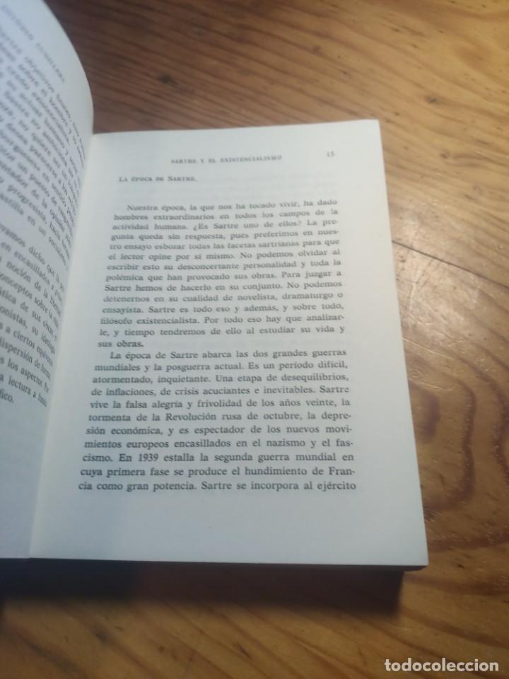 Libros de segunda mano: ANTONIO CUNILLERA: SARTRE Y EL EXISTENCIALISMO - COLECCIÒN ;HOMBRES,IDEAS,PROBLEMAS - 1968 - 1ª EDIC - Foto 5 - 269328778