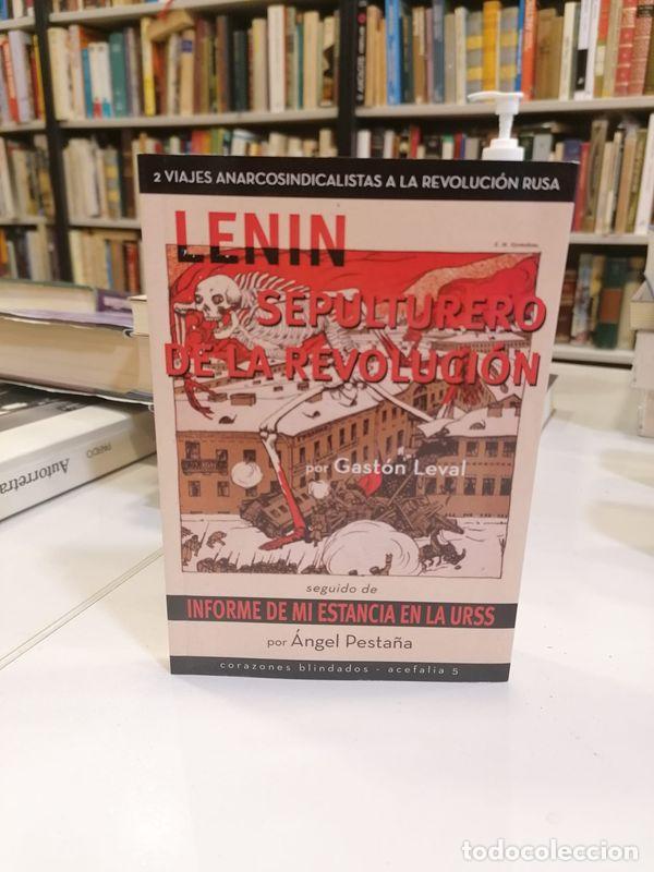 LENIN, SEPULTURERO DE LA REVOLUCIÓN. - PESTAÑA, ÁNGEL. (Libros de Segunda Mano - Pensamiento - Filosofía)