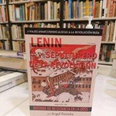 Libros de segunda mano: LENIN, SEPULTURERO DE LA REVOLUCIÓN. - PESTAÑA, ÁNGEL.. Lote 269340778