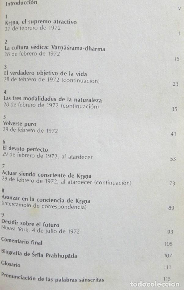 Libros de segunda mano: PREGUNTAS PERFECTAS RESPUESTAS PERFEC. LIBRO CONVERSACIONES BHAKTIVEDANTA INDIA RELIGIÓN PENSAMIENTO - Foto 3 - 269340913