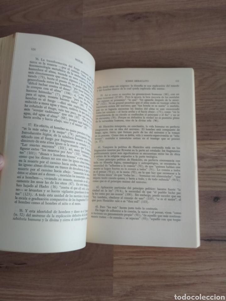 Libros de segunda mano: Antología de la filosofía Griega. José Gaos. - Foto 3 - 269398108