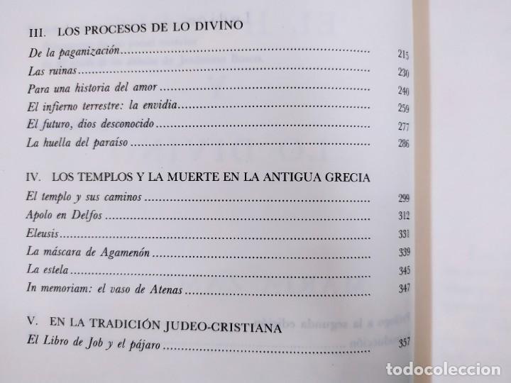 Libros de segunda mano: EL HOMBRE Y LO DIVINO / MARÍA ZAMBRANO / 1991. SIRUELA - Foto 3 - 269466238