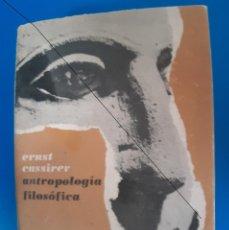 Libros de segunda mano: ANTROPOLOGIA FILOSOFICA. Lote 269940658