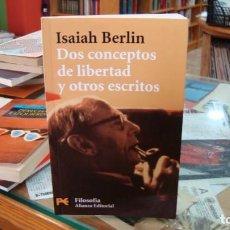 Libros de segunda mano: DOS CONCEPTOS DE LIBERTAD Y OTROS ESCRITOS - BERLIN, ISAIAH. Lote 269944848