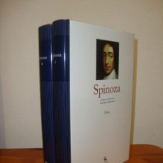 Libros de segunda mano: VOLUMEN I.: ÉTICA / VOLUMEN II: TRATADO TEOLOGICO (DOS VOL.) - SPINOZA - GREDOS. Lote 270195168