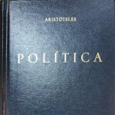 Livros em segunda mão: ARISTÓTELES, POLÍTICA. GREDOS 116. Lote 271079723