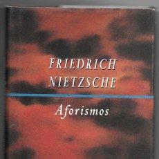 Libros de segunda mano: FRIEDRICH NIETZSCHE . AFORISMOS. Lote 271524693