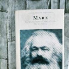 Libros de segunda mano: FILOSOFIA. GRANDES OBRAS DEL PENSAMIENTO MARX OBRAS: EL MANIFIESTO COMUNISTA - OBRAS ÍNTEGRA. EL CAP. Lote 272958813