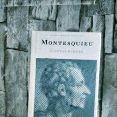 Libros de segunda mano: FILOSOFIA. GRANDES OBRAS DEL PENSAMIENTO MONTESQUIEU OBRAS: CARTAS PERSAS - OBRAS ÍNTEGRAS. (384 PÁG. Lote 272960708