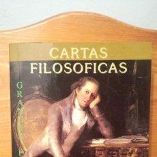Libros de segunda mano: CARTAS FILOSOFICAS ~ GRANDES PENSADORES. Lote 273912568