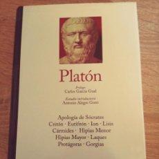 Livros em segunda mão: PLATÓN: DIÁLOGOS I (EDITORIAL GREDOS). Lote 274419743