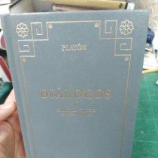 Libri di seconda mano: PLATON. DIÁLOGOS V. BIBLIOTECA BÁSICA DE GREDOS. Lote 275532378