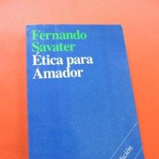 Libros de segunda mano: ÉTICA PARA AMADOR. SAVATER, FERNANDO. 31ª ED. ARIEL. Lote 275634773