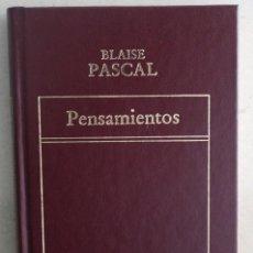 Libros de segunda mano: PENSAMIENTOS OBRA DE PASCAL. Lote 275786773