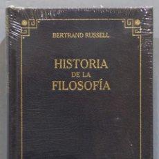 Libros de segunda mano: HISTORIA DE LA FILOSOFIA. RUSSELL. RBA. PRECINTADO. Lote 276031713