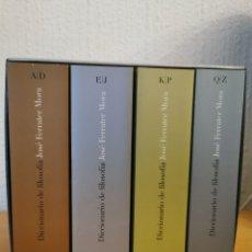 Libri di seconda mano: DICCIONARIO DE FILOSOFÍA. JOSÉ FERRATER MORA 2009.. Lote 276210803